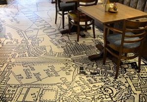 Printed flooring