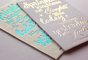 Foiling & Embossing